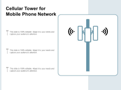 Cellular Tower For Mobile Phone Network Ppt PowerPoint Presentation Infographics Gridlines
