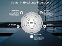 Center Of Excellence Framework Ppt PowerPoint Presentation Templates