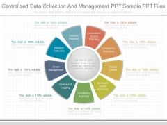 Centralized Data Collection And Management Ppt Sample Ppt Files