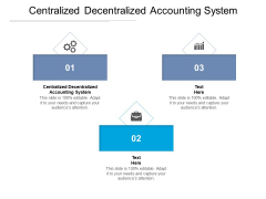 Centralized Decentralized Accounting System Ppt PowerPoint Presentation Infographic Template Background Cpb Pdf