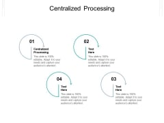 Centralized Processing Ppt PowerPoint Presentation Icon File Formats Cpb Pdf