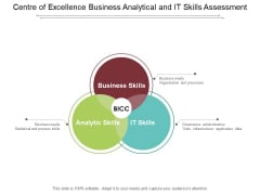 Centre Of Excellence Business Analytical And It Skills Assessment Ppt PowerPoint Presentation Summary Show