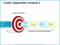 Centric Organization Template Loyalty Client Centric Strategies Download PDF
