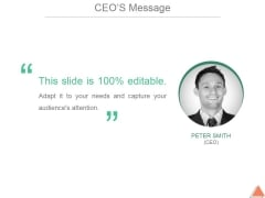 Ceos Message Template 2 Ppt PowerPoint Presentation Styles