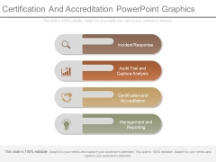 Certification And Accreditation Powerpoint Graphics