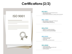 Certifications Marketing Ppt PowerPoint Presentation Icon Example Introduction