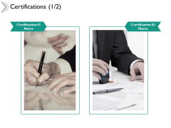 Certifications Planning Ppt Powerpoint Presentation Infographics Layout Ideas