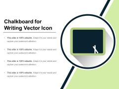 Chalkboard For Writing Vector Icon Ppt PowerPoint Presentation Layouts Diagrams PDF