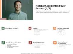 Challenges And Opportunities For Merchant Acquirers Merchant Acquisition Buyer Persona Cash Download PDF