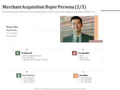 Challenges And Opportunities For Merchant Acquirers Merchant Acquisition Buyer Persona Microsoft PDF