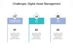 Challenges Digital Asset Management Ppt PowerPoint Presentation Inspiration Sample Cpb Pdf