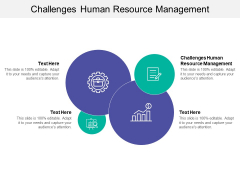 Challenges Human Resource Management Ppt PowerPoint Presentation Portfolio Display Cpb