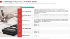 Challenges In Rural Life Insurance Sector Designs PDF