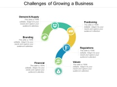 Challenges Of Growing A Business Ppt PowerPoint Presentation Infographic Template Slideshow