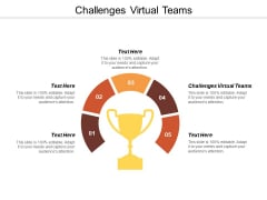 Challenges Virtual Teams Ppt PowerPoint Presentation Icon Information