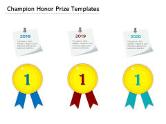 Champion Honor Prize Templates Ppt PowerPoint Presentation File Background Image PDF