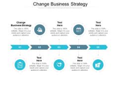 Change Business Strategy Ppt PowerPoint Presentation Portfolio Visual Aids Cpb