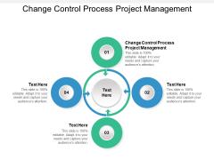 Change Control Process Project Management Ppt PowerPoint Presentation Portfolio Cpb
