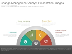 Change Management Analyst Presentation Images