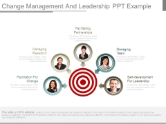 Change Management And Leadership Ppt Example