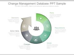 Change Management Database Ppt Sample