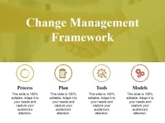 Change Management Framework Ppt PowerPoint Presentation Infographic Template Example Introduction