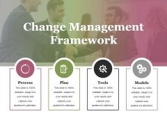 Change Management Framework Ppt PowerPoint Presentation Professional Rules