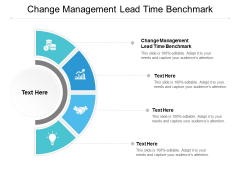 Change Management Lead Time Benchmark Ppt PowerPoint Presentation Summary Images Cpb