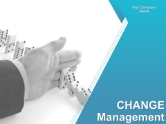 Change Management Powerpoint Presentation Slides