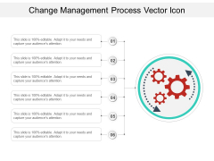 Change Management Process Vector Icon Ppt PowerPoint Presentation File Graphic Images PDF