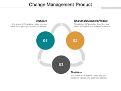Change Management Product Ppt PowerPoint Presentation Pictures Format Ideas Cpb