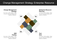 Change Management Strategy Enterprise Resource Planning B2b Trading Ppt PowerPoint Presentation Visual Aids Ideas