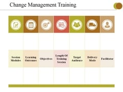 Change Management Training Ppt PowerPoint Presentation Show Layout Ideas