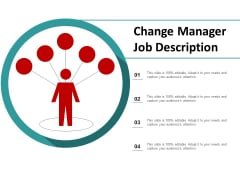 Change Manager Job Description Ppt Powerpoint Presentation Outline Picture