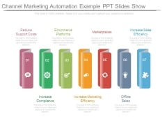 Channel Marketing Automation Example Ppt Slides Show