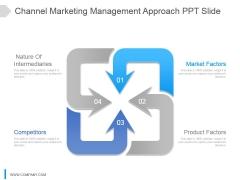 Channel Marketing Management Approach Ppt Slide