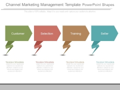 Channel Marketing Management Template Powerpoint Shapes