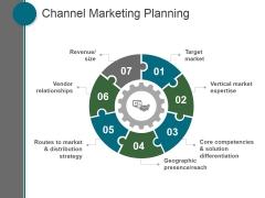 Channel Marketing Planning Ppt PowerPoint Presentation Files
