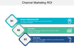 Channel Marketing ROI Ppt PowerPoint Presentation Ideas Show Cpb
