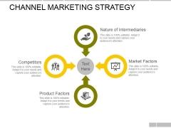 Channel Marketing Strategy Ppt PowerPoint Presentation Show Smartart