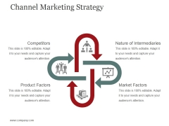 Channel Marketing Strategy Template 1 Ppt PowerPoint Presentation Show Slide Portrait