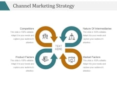 Channel Marketing Strategy Template 2 Ppt PowerPoint Presentation Information