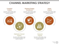 Channel Marketing Strategy Template Ppt PowerPoint Presentation Outline Gallery