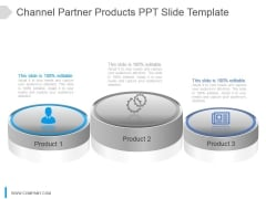 Channel Partner Products Ppt Slide Template