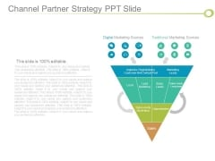 Channel Partner Strategy Ppt Slide