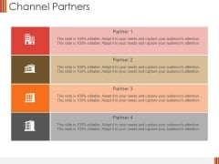 Channel Partners Ppt PowerPoint Presentation Infographics Graphics