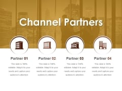 Channel Partners Ppt Powerpoint Presentation Portfolio Outline