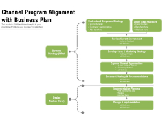Channel Program Alignment With Business Plan Ppt PowerPoint Presentation Professional Summary PDF