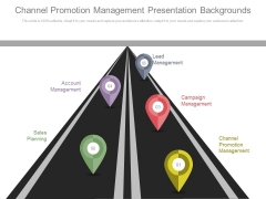 Channel Promotion Management Presentation Backgrounds