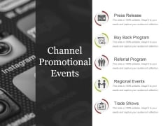 Channel Promotional Events Ppt PowerPoint Presentation Model Background Image